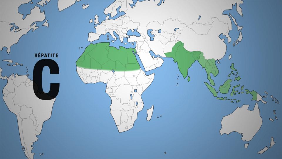 Hépatites : la géographie - Corpus - réseau Canopé